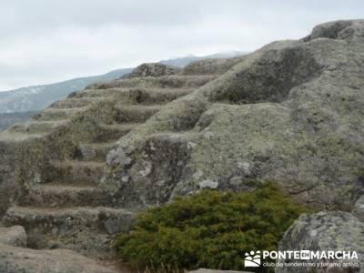 La sierra de Paramera - Castillo de Manqueospese / Aunqueospese - Castro Celta de Ulaca; senderos lo